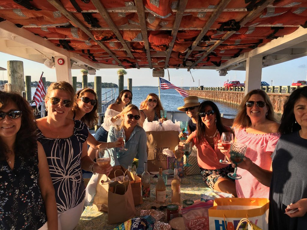 Birthday party private charter boat rental with American Beauty Cruises & Charters