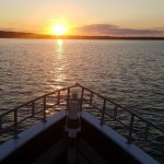 Into the Sag Harbor sunset with American Beauty Cruises & Charters sunset cruise