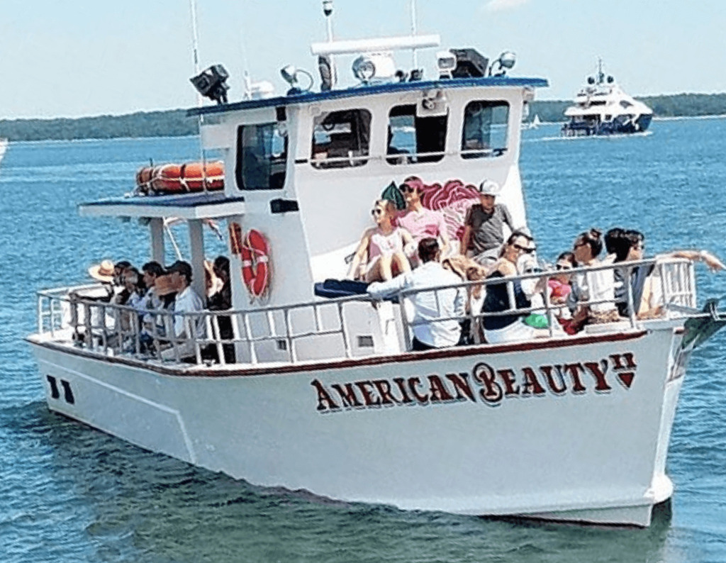 American Beauty II private charter in the Hamptons