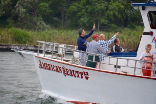 American Beauty II sightseeing nature boat ride